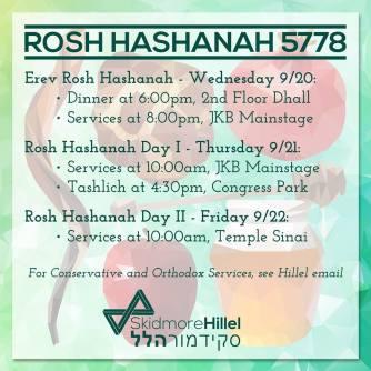 Rosh Hashanah Hillel