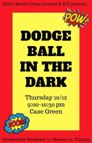 Dodgeball in the Dark