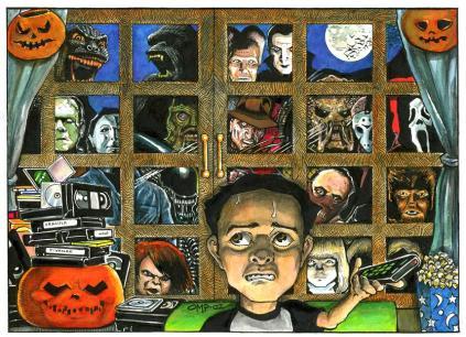 Monster Movie Marathon